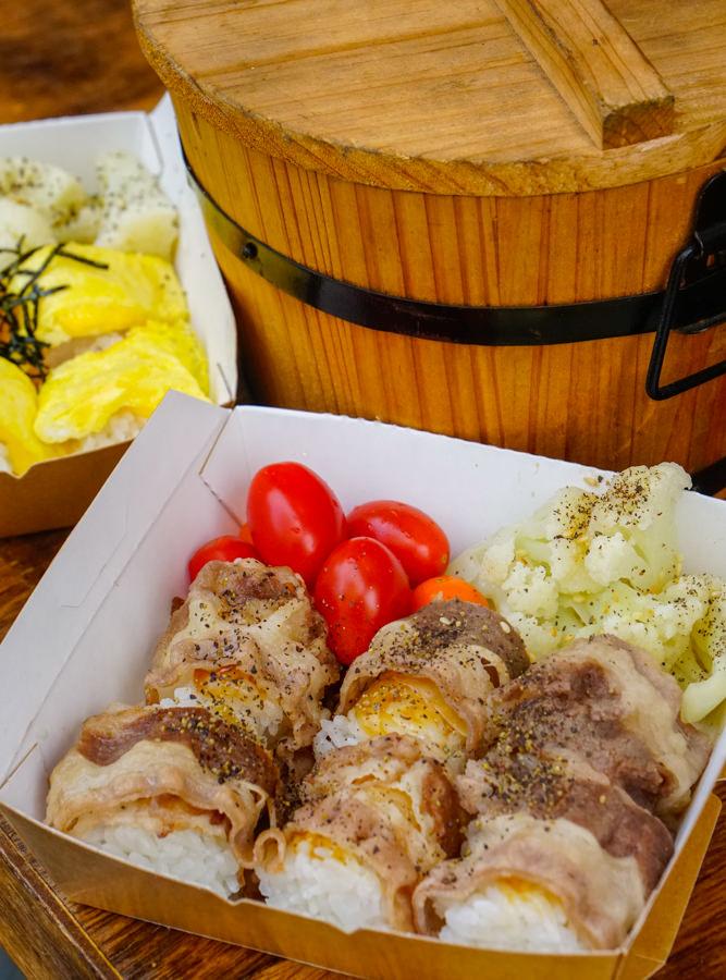 [高雄]武飯糰-OL最愛!創意飯糰餐盒 蔬果健康滿點 文青風餐車 高雄飯糰推薦 @美食好芃友