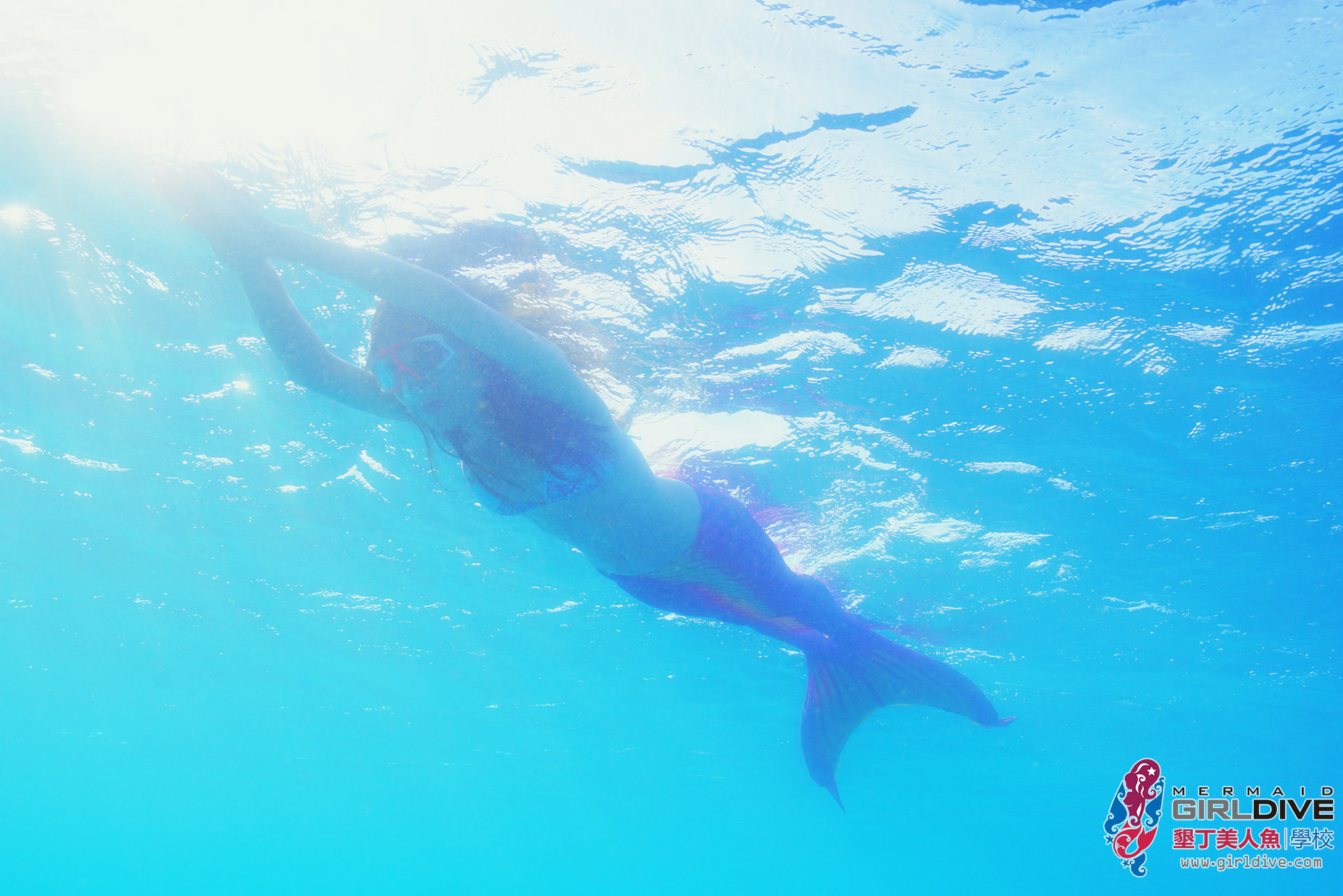 [墾丁]墾丁美人魚學校 | GirlDive-超時尚運動! 化身美人魚悠游海洋 漂亮美人魚寫真 墾丁潛水推薦 @美食好芃友