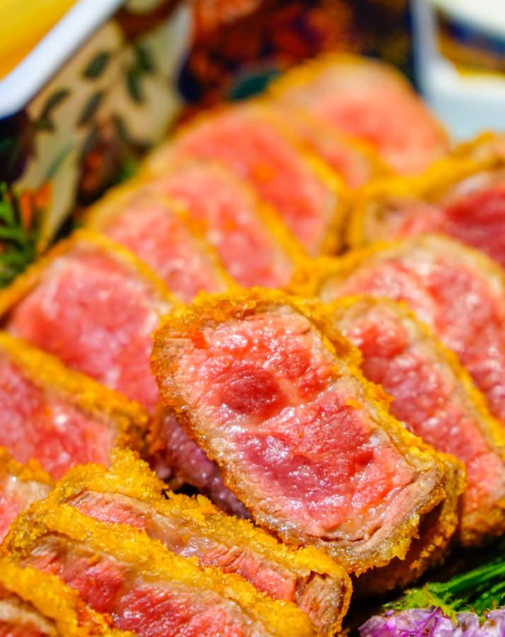 [高雄]萩椛牛かつ專門店-肉控不能錯過的銷魂日式炸牛排! 高雄炸牛排推薦 @美食好芃友