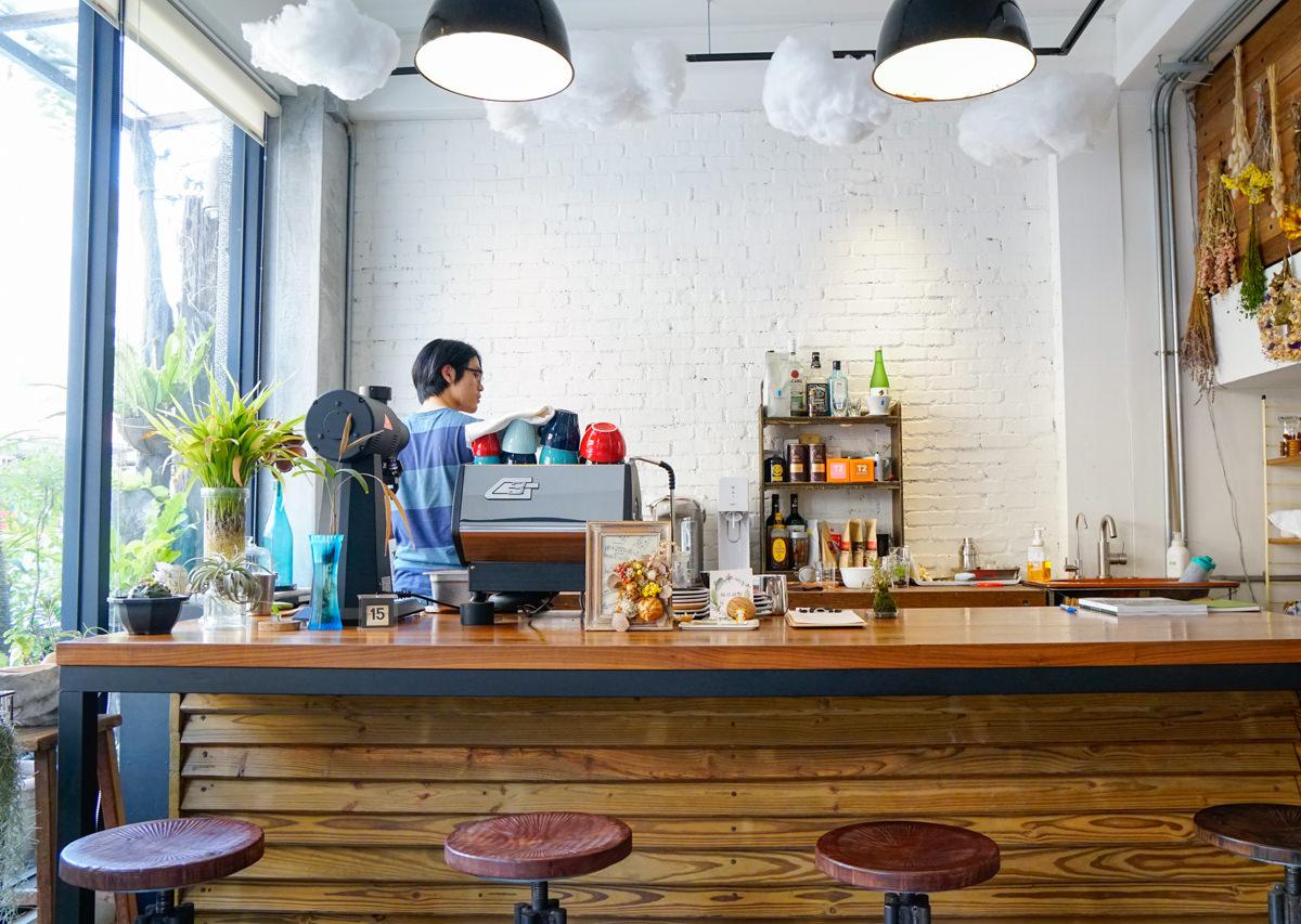 [台南]Meller墨樂咖啡-安平隱藏版! 時尚乾燥花藝x復古老屋咖啡店 難忘美味手作甜點 台南安平咖啡館推薦 @美食好芃友