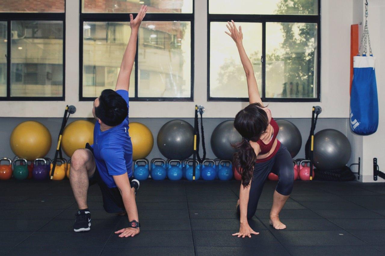 [高雄]雅典娜體適能中心-一對一私人教練 TRX核心肌群訓練體態雕塑 高雄私人健身教練推薦 @美食好芃友