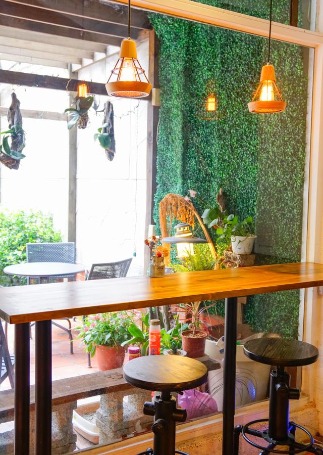 [高雄]Cubby café-都市叢林的綠樹花園豐盛早午餐! 高雄文化中心美食推薦 @美食好芃友