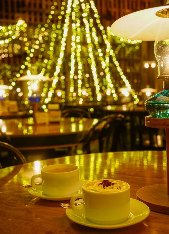 [北海道自助]北一硝子三號館-小樽運河旁必去浪漫秘境! 百年煤油燈喫茶咖啡館 小樽運河美食推薦 @美食好芃友