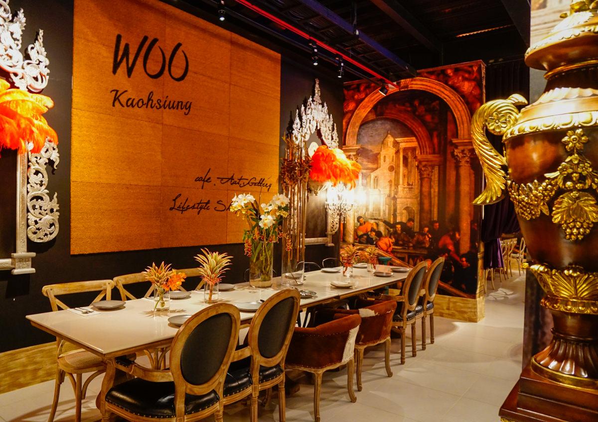 [高雄]WOO TAIWAN-華麗叢林餐廳品泰國菜! 高雄美術館網美熱門IG打卡點 高雄美術館餐廳推薦 @美食好芃友