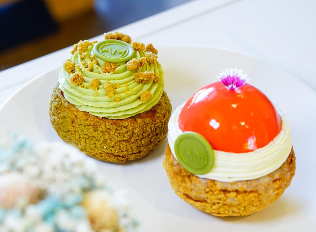 [高雄]AM Pastry Studio波諾斯甜點工作室-低調華麗法式泡芙! 愛河之心旁隱藏版甜點店 高雄下午茶推薦 @美食好芃友