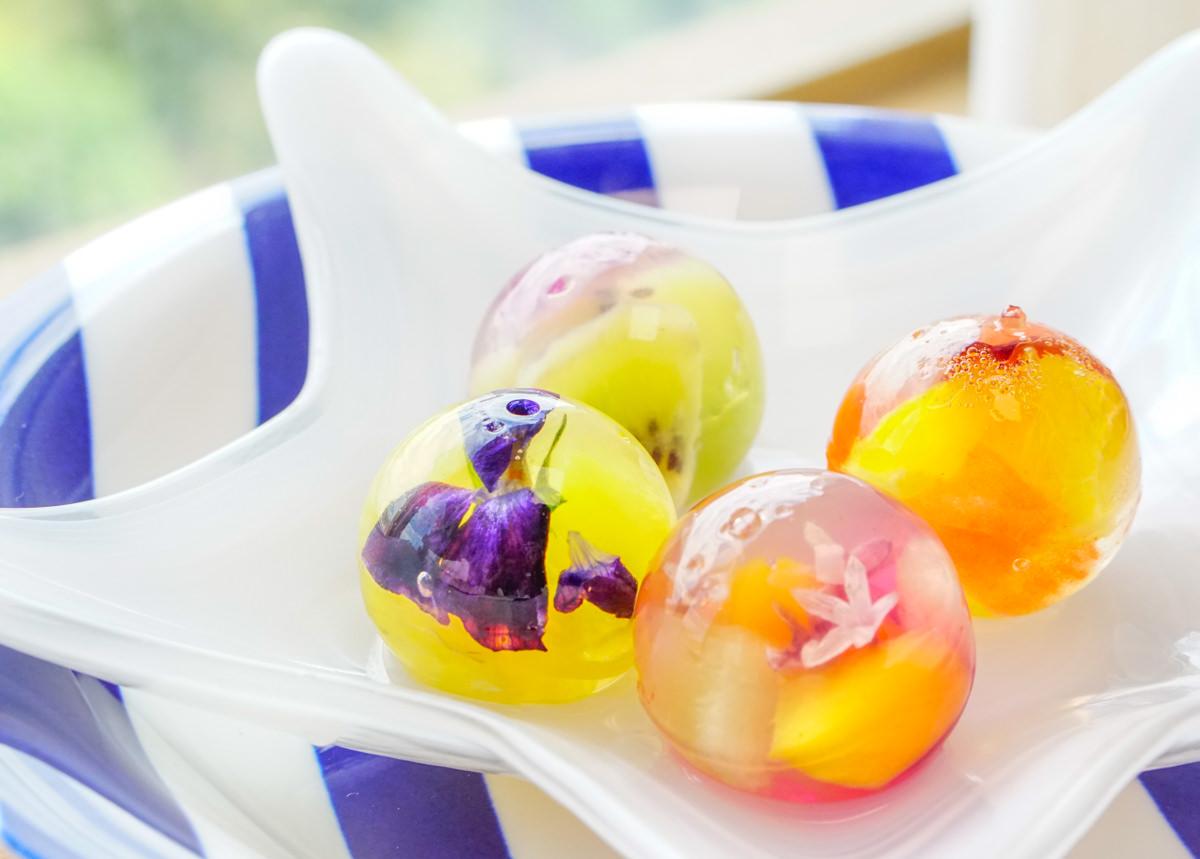 [高雄]琉璃玉清涼點心禮盒-IG爆紅!超美的鮮花寒天果凍禮盒 @美食好芃友