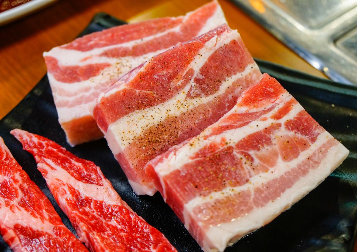 [高雄韓式烤肉]讚呀正宗韓式烤肉-銷魂起司泡麵x超道地韓式烤五花肉 @美食好芃友