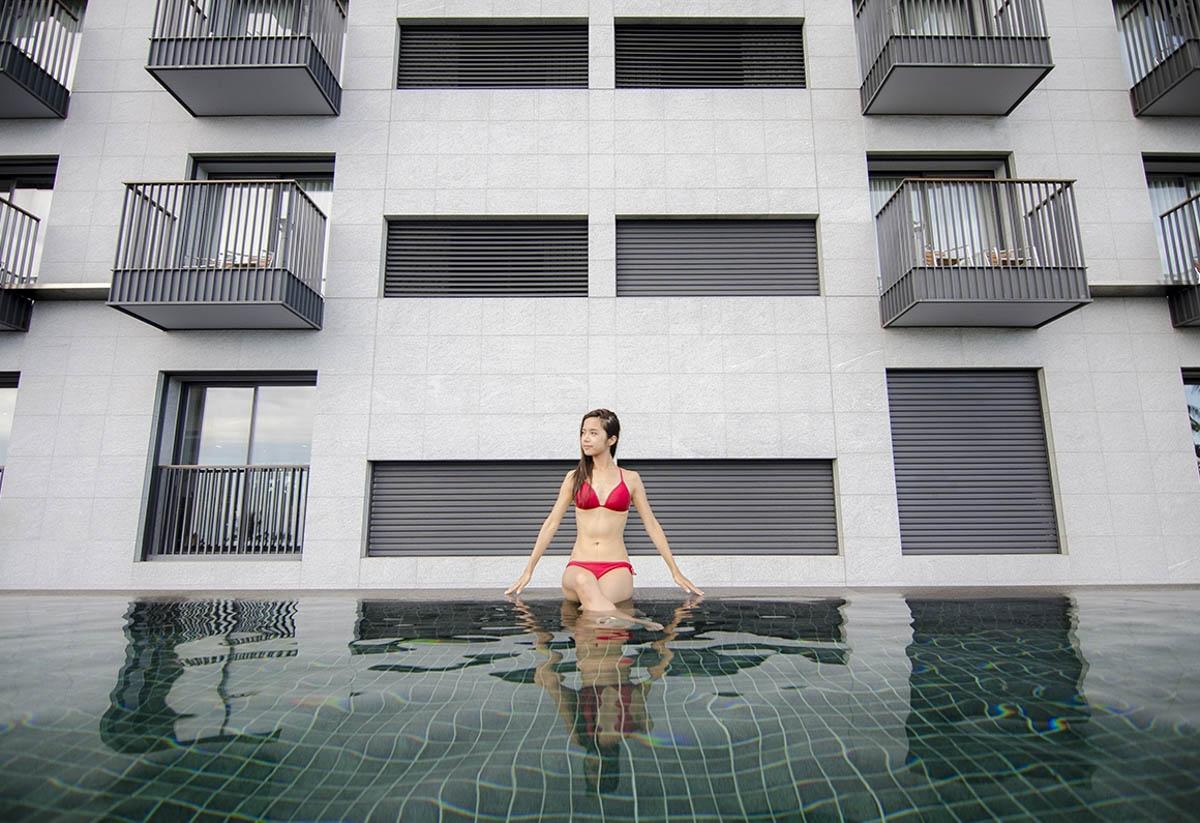 [花蓮住宿推薦]璽賓行旅 Kadda hotel-花蓮唯一無邊際泳池x單車飯店推薦 @美食好芃友