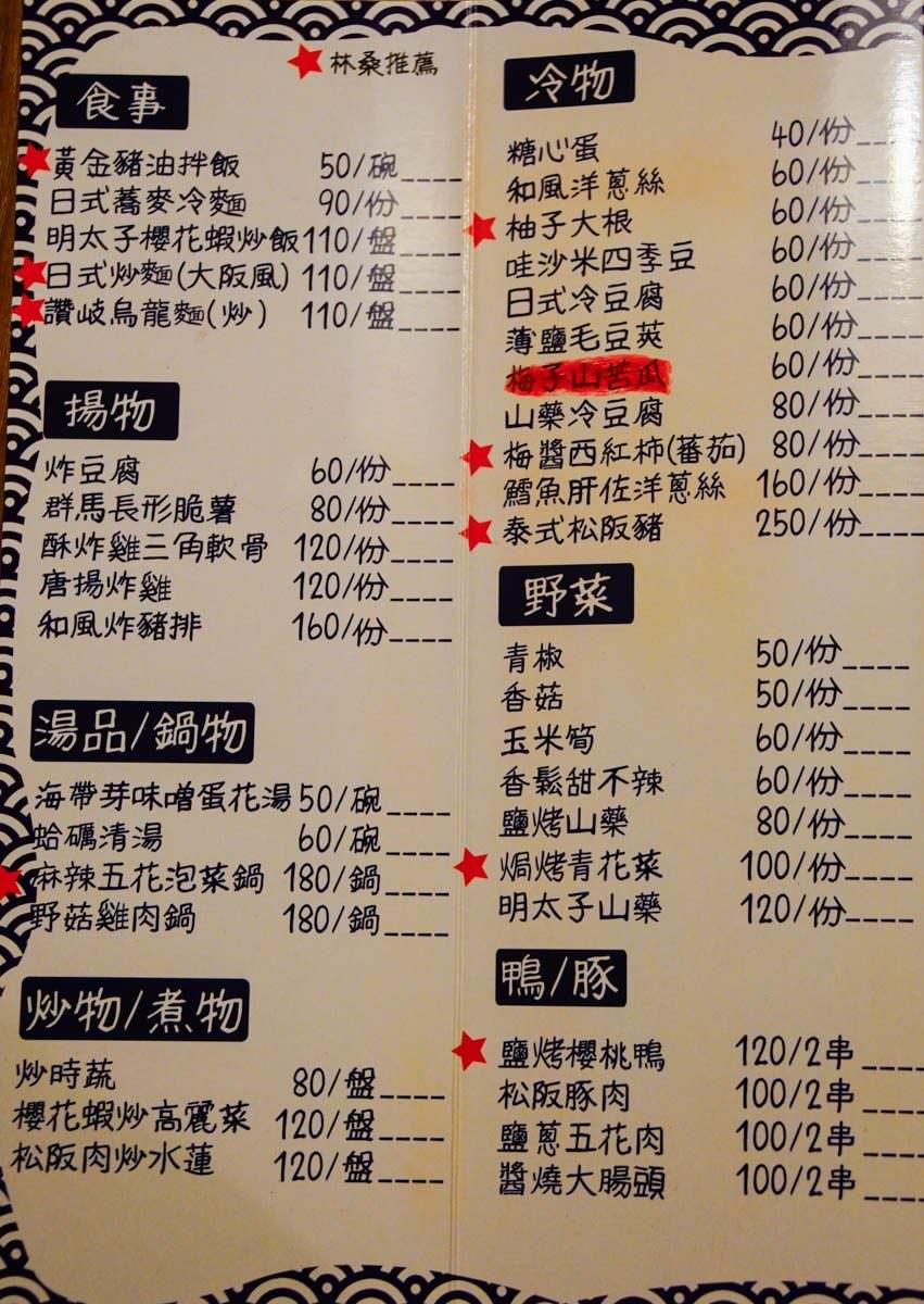[高雄居酒屋推薦]林桑手串本家-深夜食堂銷魂豬油拌飯! 鰻魚專賣懷舊居酒屋 @美食好芃友