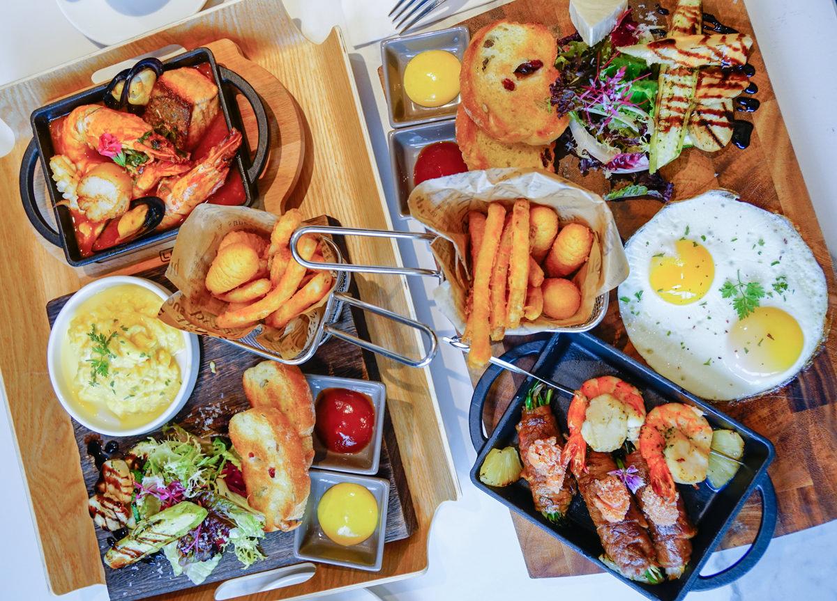 [高雄巨蛋美食]帕可麗酒店艾可廚坊-綠影相伴質感早午餐 @美食好芃友
