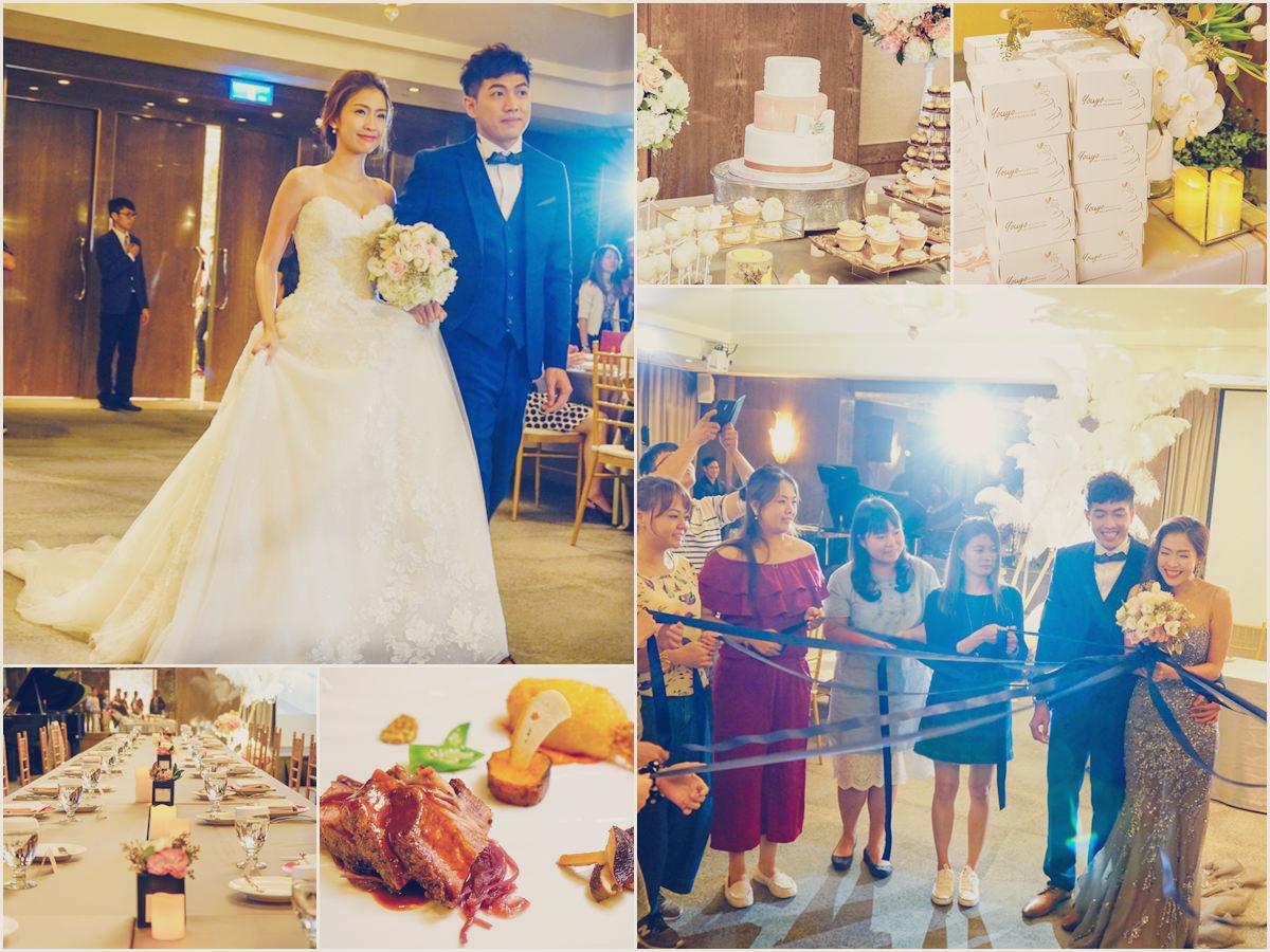 [高雄]高雄國賓小奢華婚禮體驗日-來個白色優雅夢幻婚禮吧! @美食好芃友