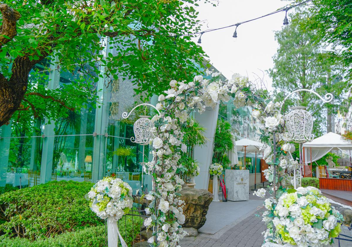 [高雄]梅森維拉Maison de Verre-愛河畔浪漫破表玻璃屋享早午餐 @美食好芃友