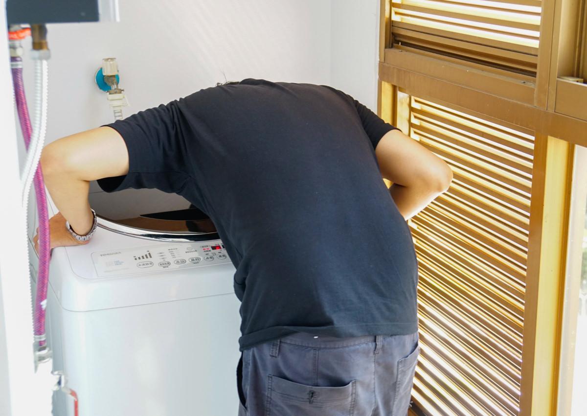 [高雄洗衣機清洗]利豐工作坊-超細心專業洗衣機拆洗!到府服務好便利 @美食好芃友