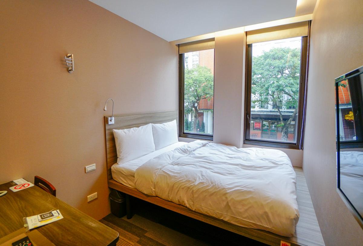 [台北車站住宿]U-rban Inn Taipei愛旅居-一人1000元入住質感商旅!車站步行10分 @美食好芃友