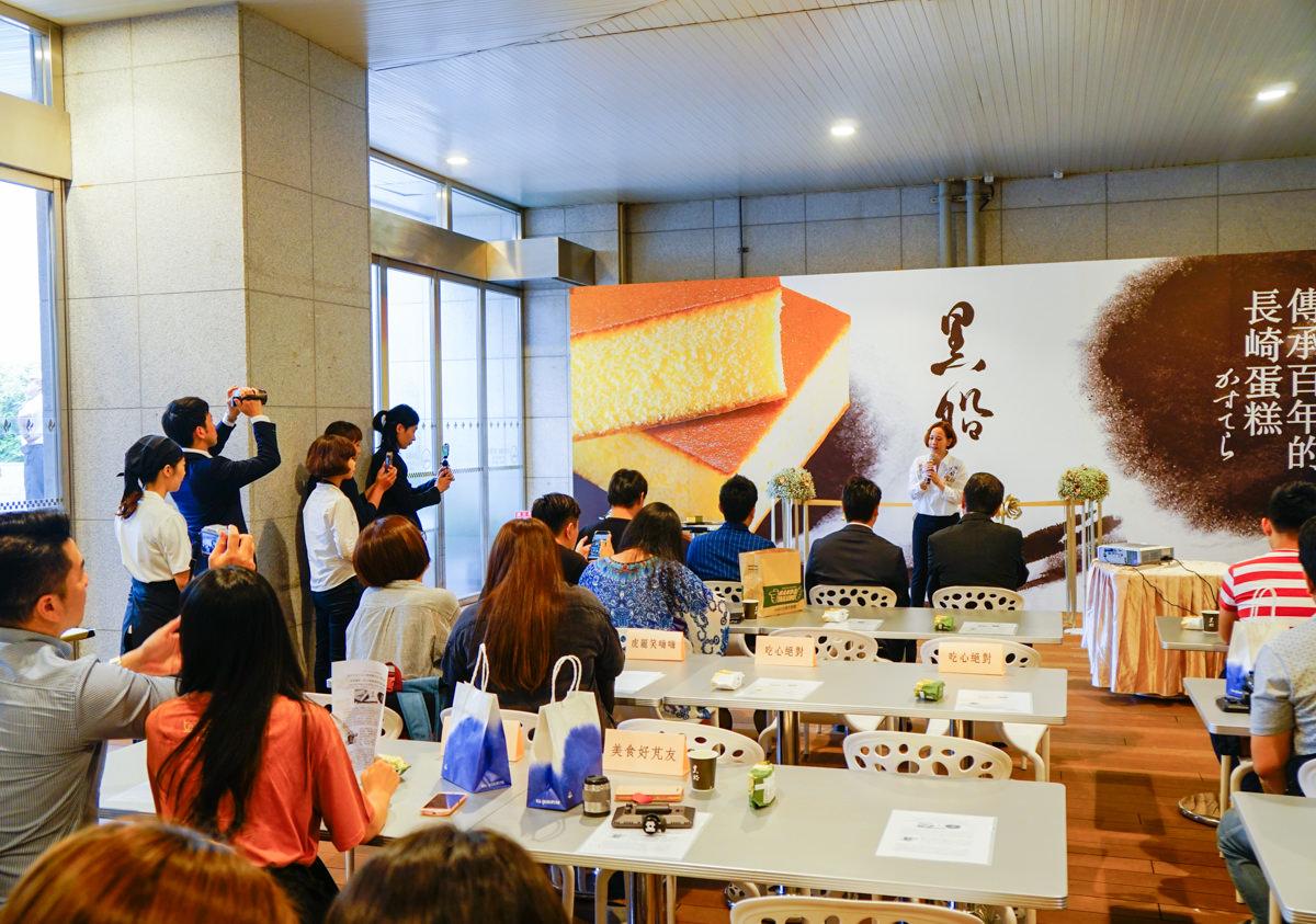 [高雄巨蛋下午茶]黑船長崎蛋糕-東京人氣甜點進駐高雄巨蛋B1F @美食好芃友