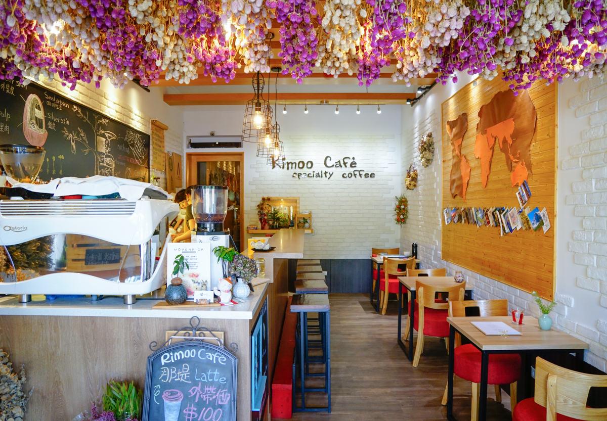 [高雄咖啡店推薦]日沐咖啡-愛不釋手玫瑰起司蛋糕!優雅花草系咖啡店 @美食好芃友