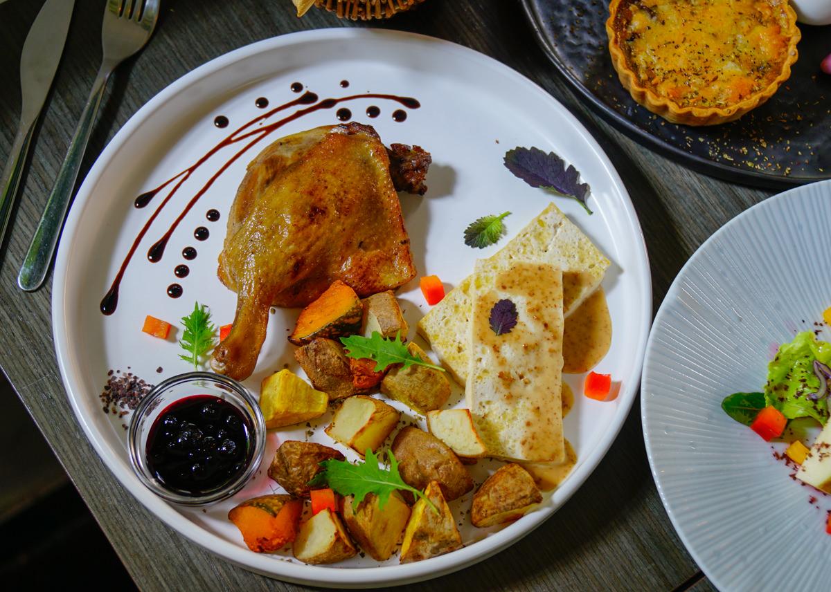 [台南東區美食]一緒二廚房-巷弄隱藏版義法廚房!不能錯過美味法式油封鴨! @美食好芃友