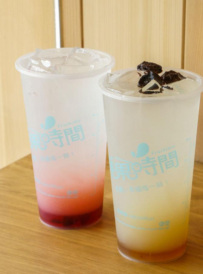 [高雄飲料店推薦]鮮果時間(五福大統店)-芋頭控快上!滿出來的芋圓鮮奶茶!新鮮水果系飲料 @美食好芃友