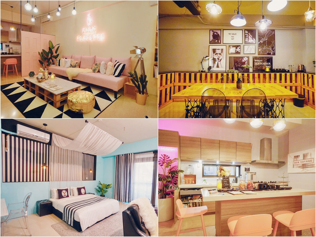 [台南民宿推薦]Pink Flatette平克弗雷特-時尚粉紅系攝影棚民宿!網美們必來打卡聖地 @美食好芃友