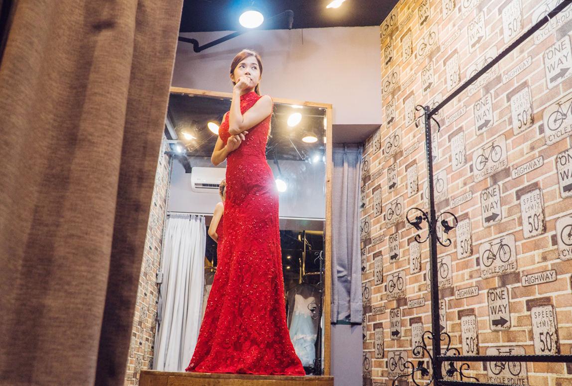 [Wedding]幸福感婚紗攝影工作室-CP值超高台北婚紗禮服出租!平價樣式選擇超多! @美食好芃友