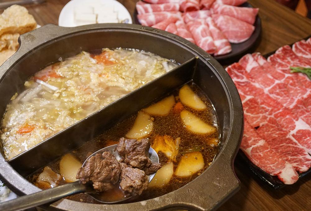 [高雄火鍋推薦]滿福精緻羊肉料理餐廳-老饕超愛!紅燒羊肉/酸白菜鴛鴦鍋~熱炒也好吃 @美食好芃友