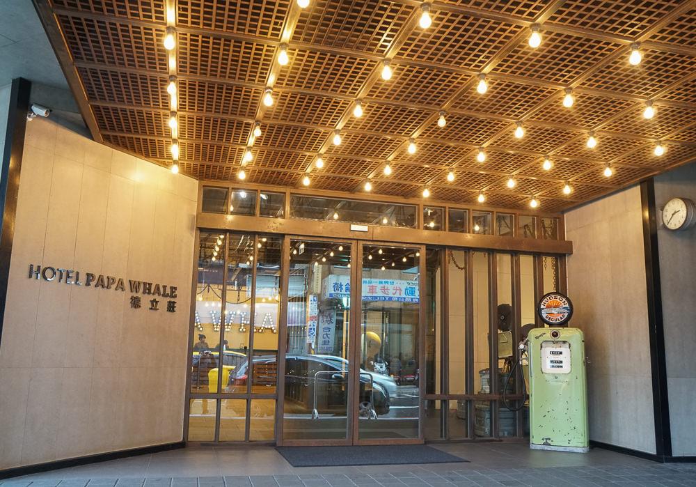 [台北住宿推薦]Hotel Papa Whale-西門町最高C/P值!超潮電影場景旅店!早餐火鍋吃到飽 @美食好芃友