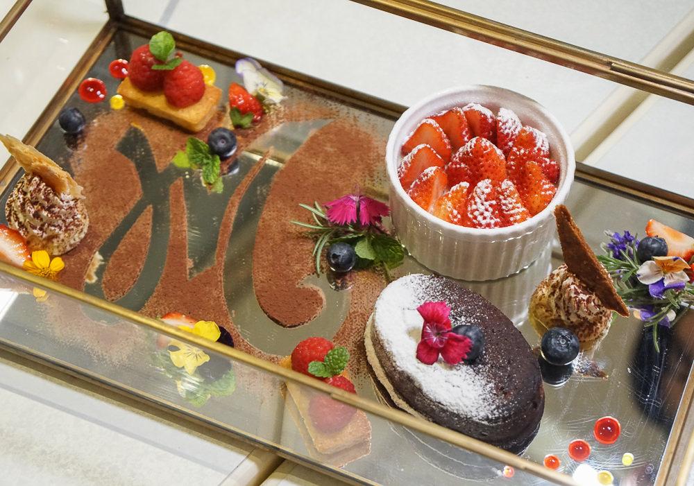 [台中法式料理推薦]沐軒Res.M-巷弄中的精彩歐式演繹!驚喜的甜點珠寶盒 @美食好芃友