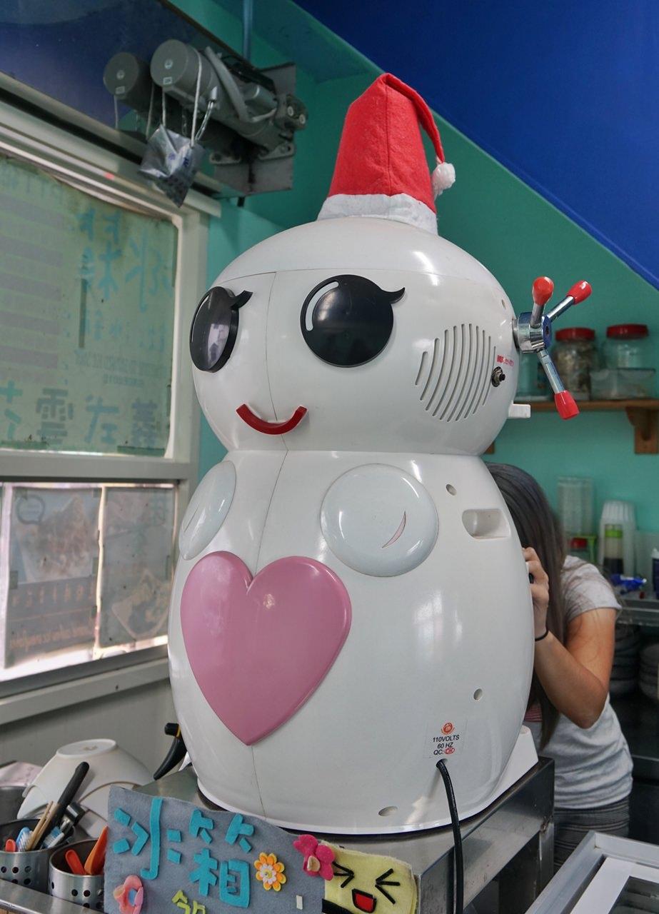 [小琉球美食]小琉球冰箱冰舖-超高C/P值芒果雪花冰x珍珠奶茶雪花冰 @美食好芃友