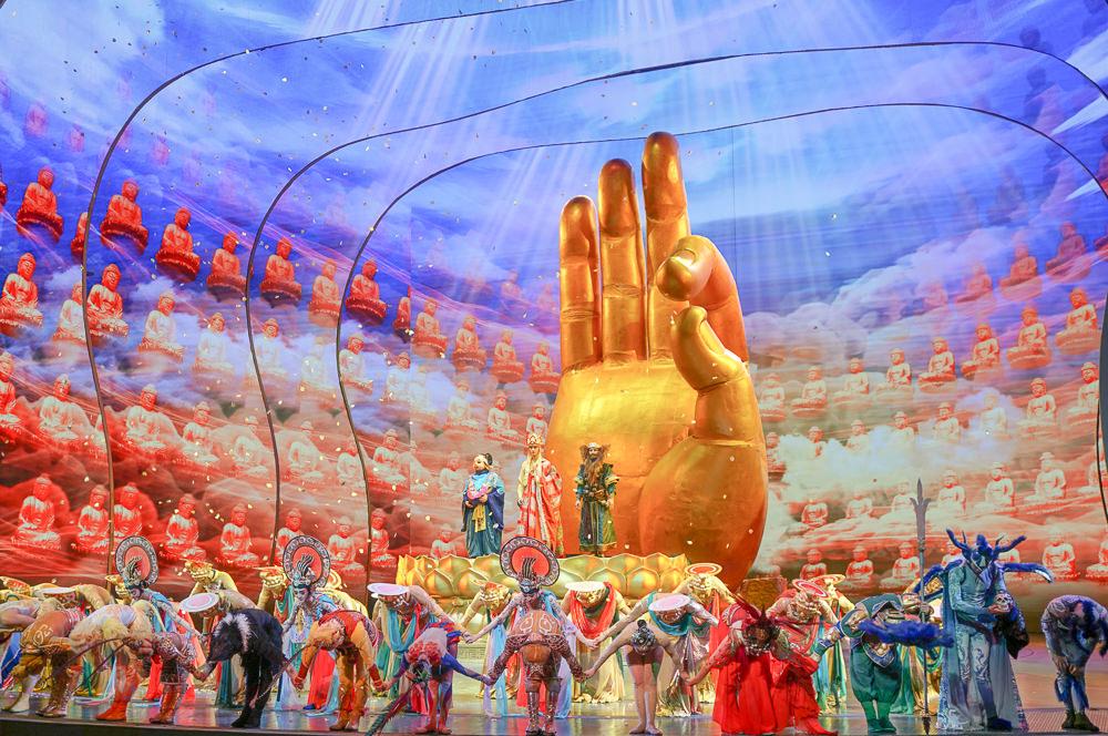 [澳門行程推薦]澳門金沙城劇場「西遊記」-精彩技藝!澳門必看中國風舞台劇 @美食好芃友