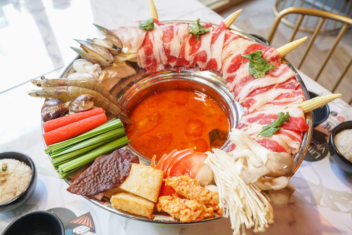 [高雄]小越廚創意越式料理-IG好打卡~時尚越南餐廳!肉滿滿的推推鍋超好吃 @美食好芃友