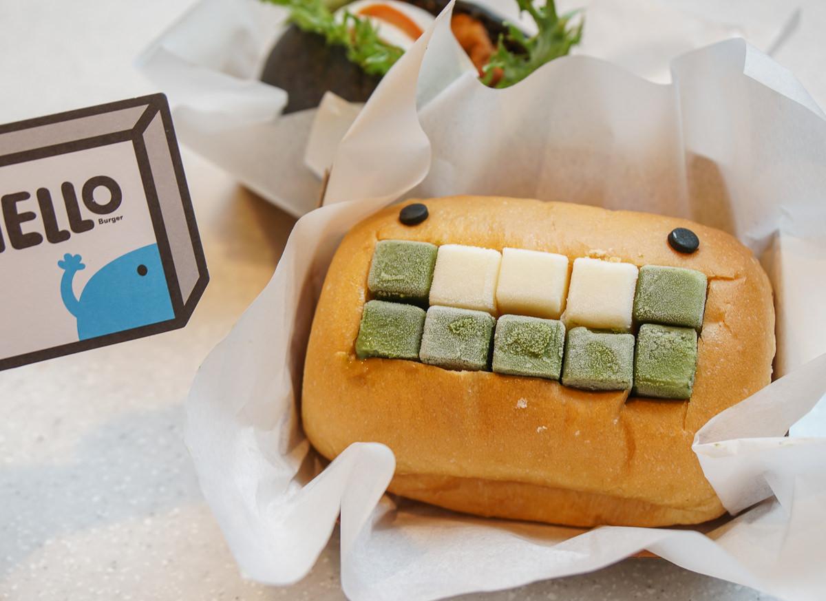 [高雄]HELLO Burger(高雄漢神巨蛋)-超療癒萌萌怪獸漢堡!IG打卡超熱門~ @美食好芃友
