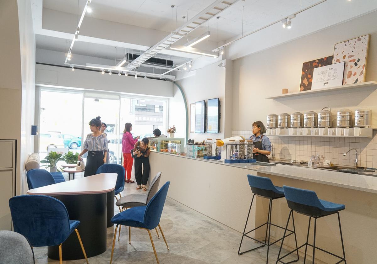 [高雄]泱茶YUMTEA-高雄最新IG網美飲料店!超好喝滿滿水蜜桃粉色系果茶 @美食好芃友