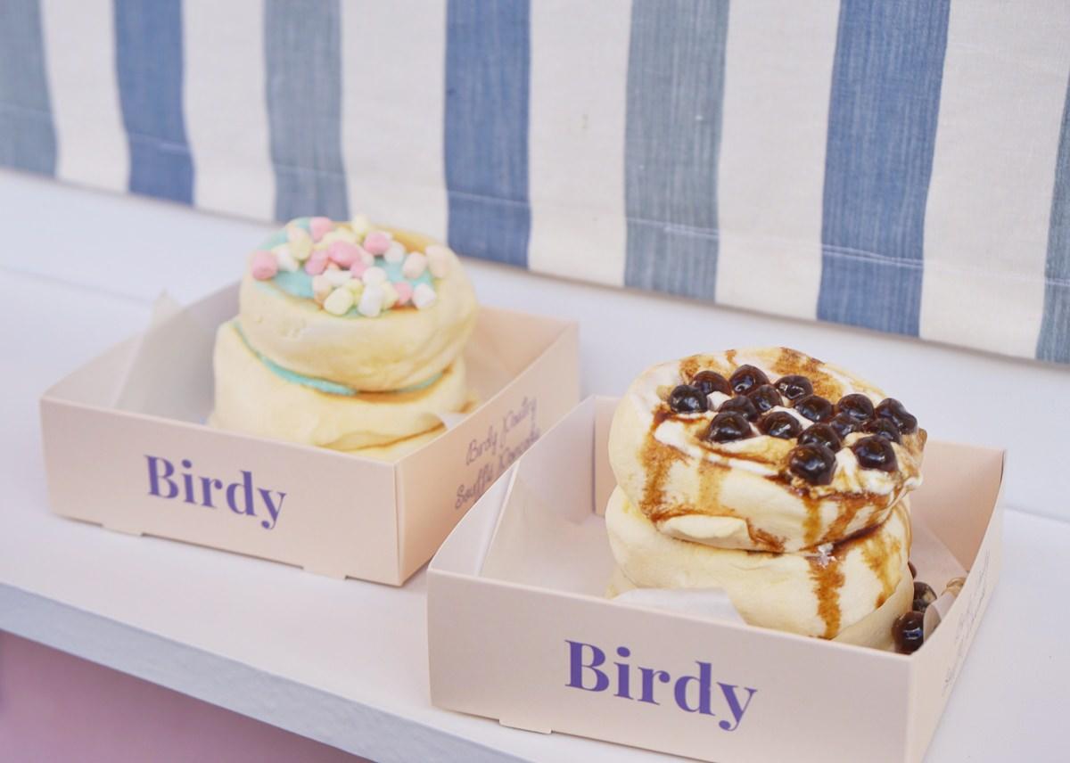 [高雄下午茶推薦]Birdy Pancake-一份只要79元雲朵舒芙蕾鬆餅!療癒系IG打卡小店 @美食好芃友