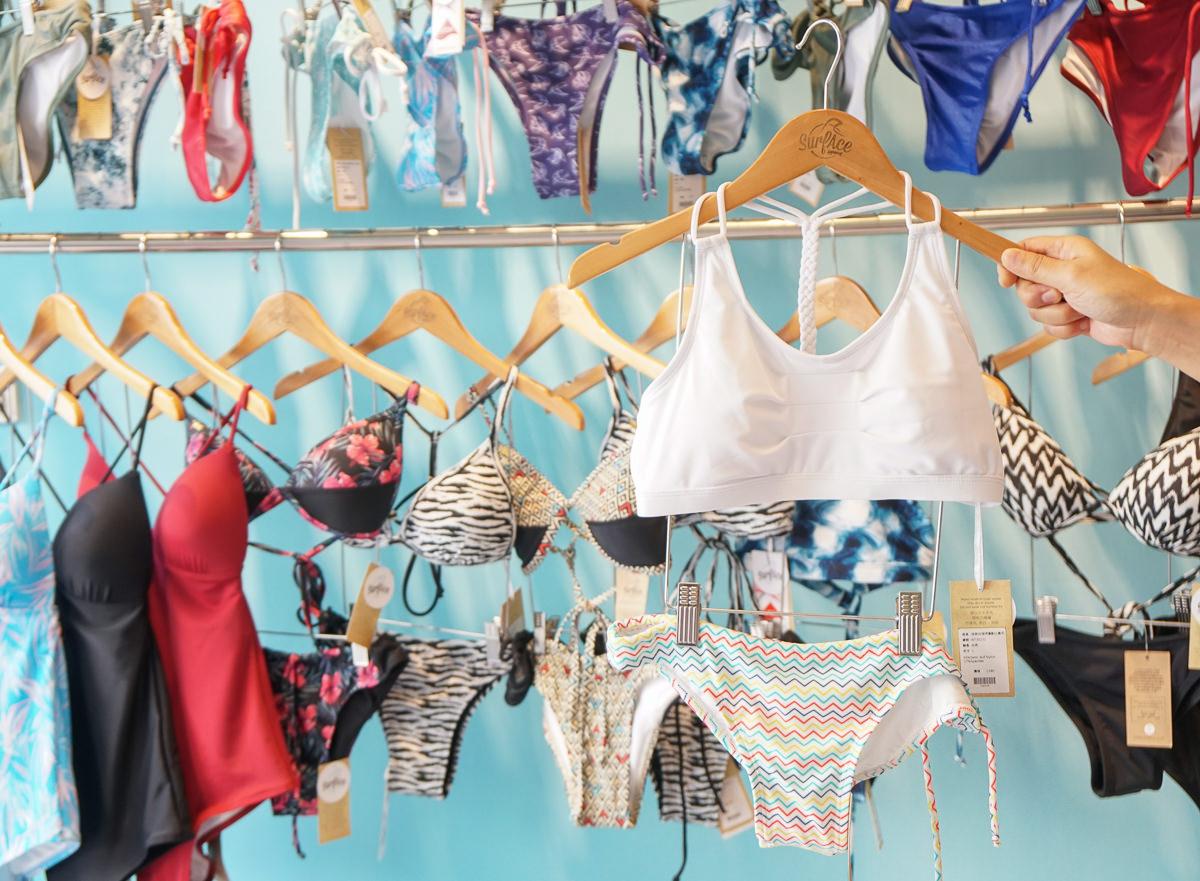 [時尚]比基尼品牌推薦: SurfAce Bikinis-展現自信! 時尚繽紛運動比基尼 水下運動不走光 @美食好芃友