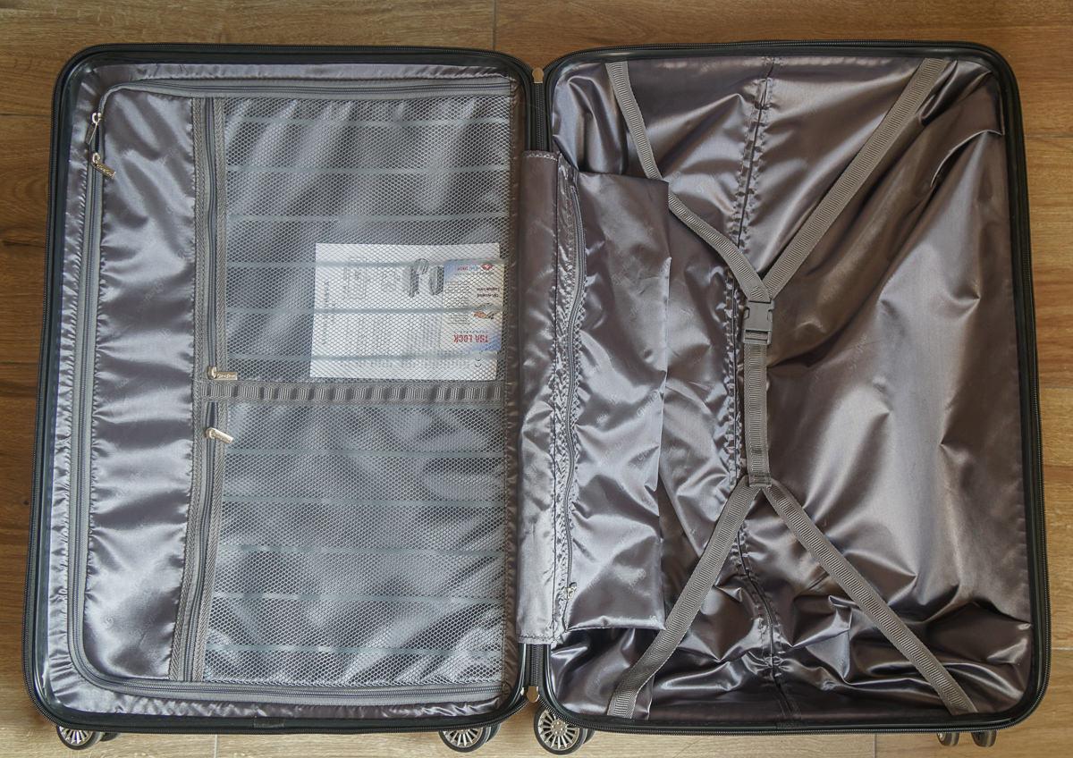 [行李箱推薦]法國Flexflow費氏芙蘿行李箱-超夢幻漸層色x智能秤重行李箱!出國再也不怕行李超重 @美食好芃友