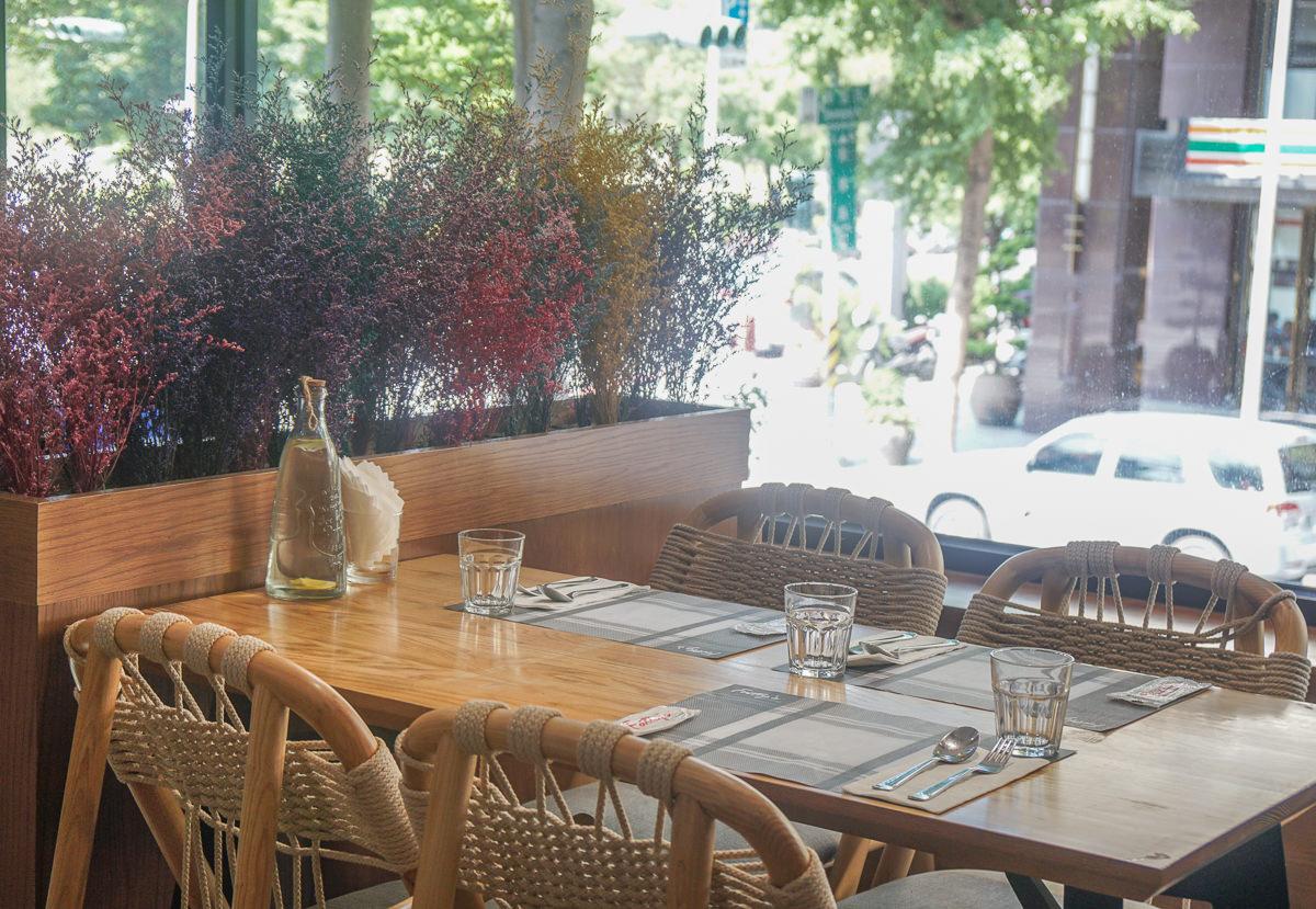 [高雄]Fatty's義式創意餐廳/法帝斯鐵板燒(龍德店)-高貴不貴!綠色樹屋質感義式餐廳 @美食好芃友
