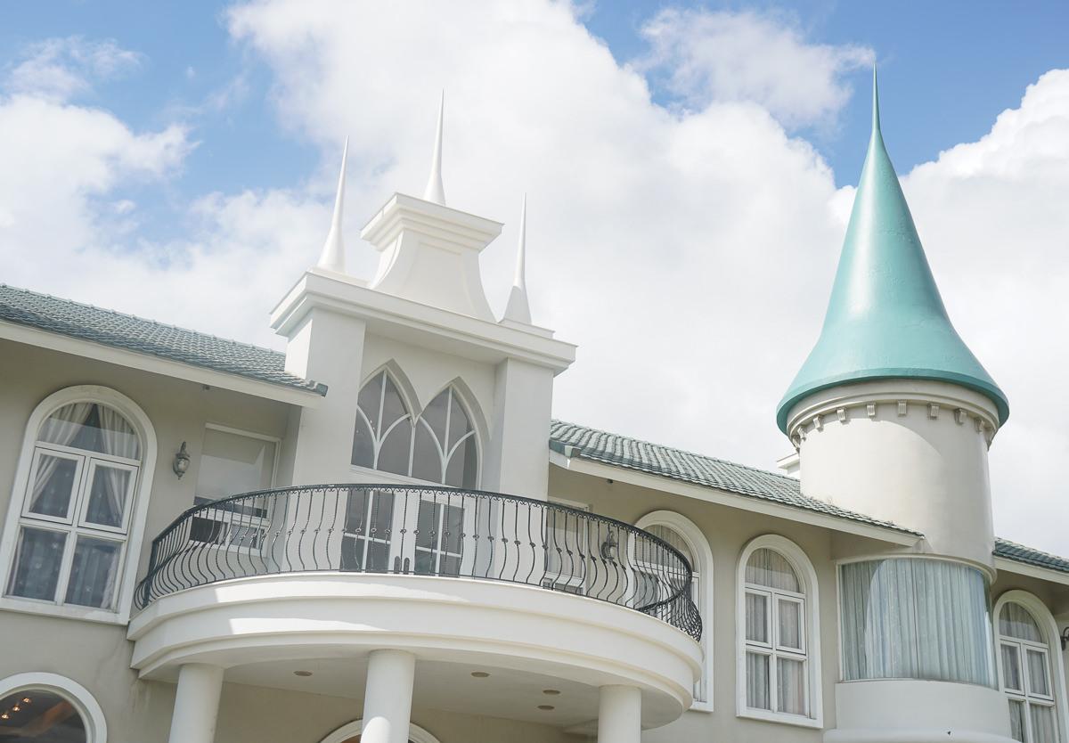 [宜蘭住宿推薦]希格瑪花園城堡-極致歐風粉色古堡!全台十大浪漫民宿 @美食好芃友