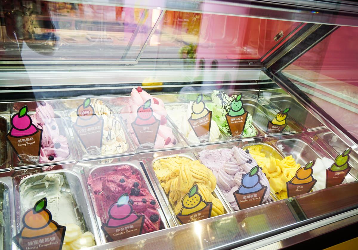 [高雄]kaju gelato義式手工冰淇淋(孝順店)-令少女瘋狂極致粉色系冰淇淋小店 @美食好芃友
