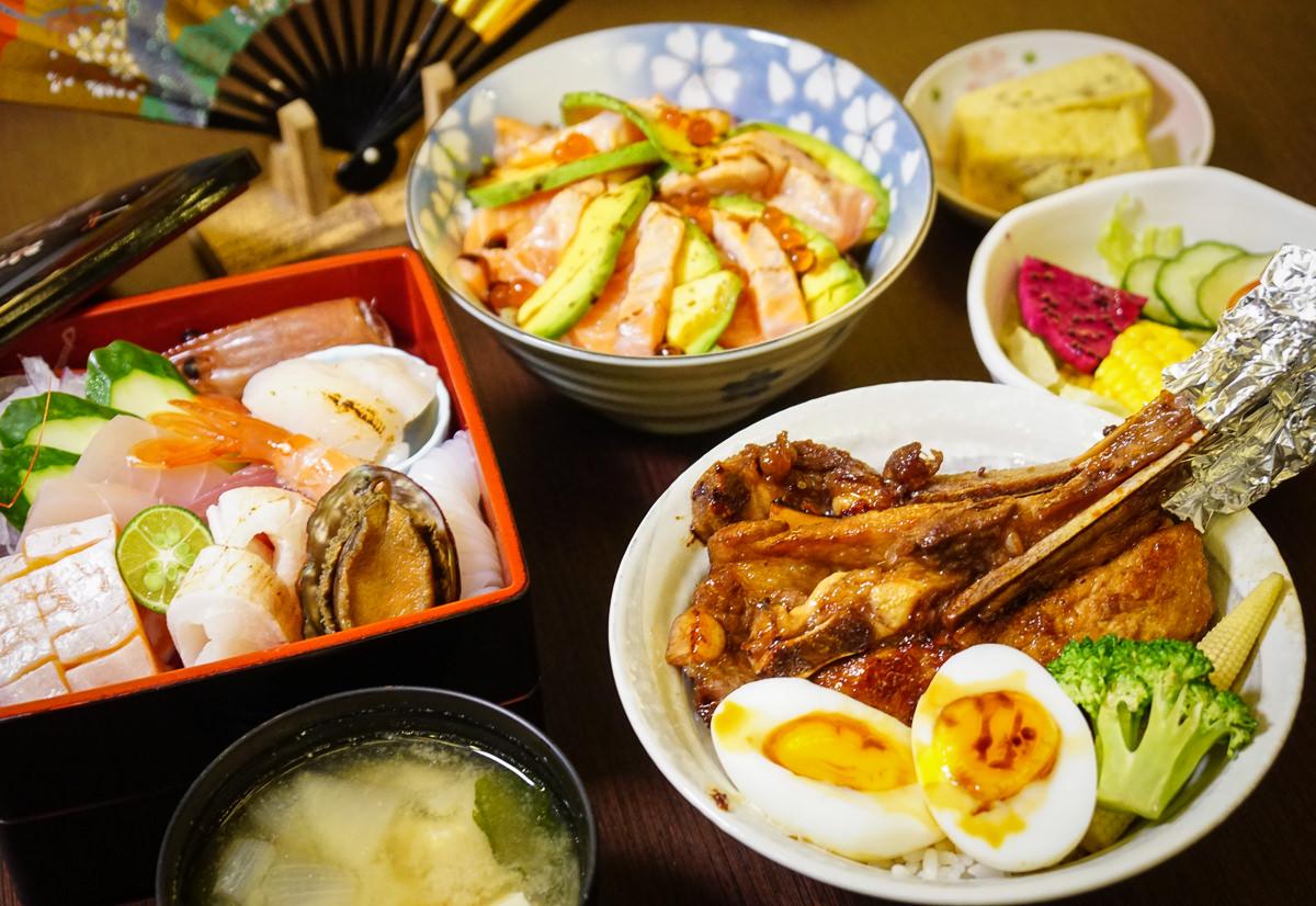 [高雄]戶谷川和食處-必吃豪華海鮮盒x法式豬排丼~高雄美術館區最新鮮日式丼飯 @美食好芃友