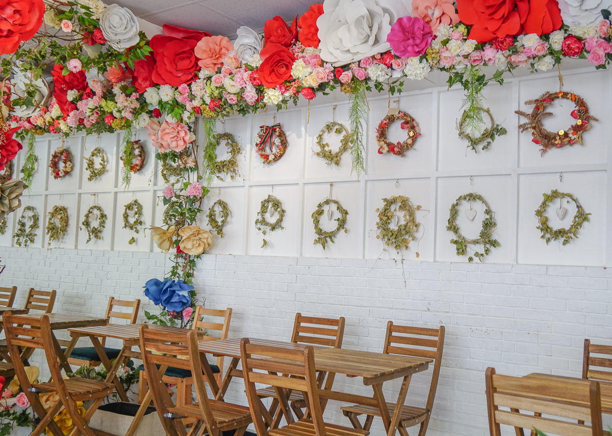 [高雄]蔝蓨花苑Miss U Flower Tea House-許你一個極致花花世界~網美必來高雄IG打卡美食 @美食好芃友