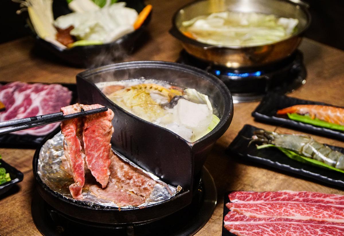 [高雄]聞香下駒-火烤兩吃一次滿足!肉控不能錯過的冷藏高級肉火鍋 @美食好芃友