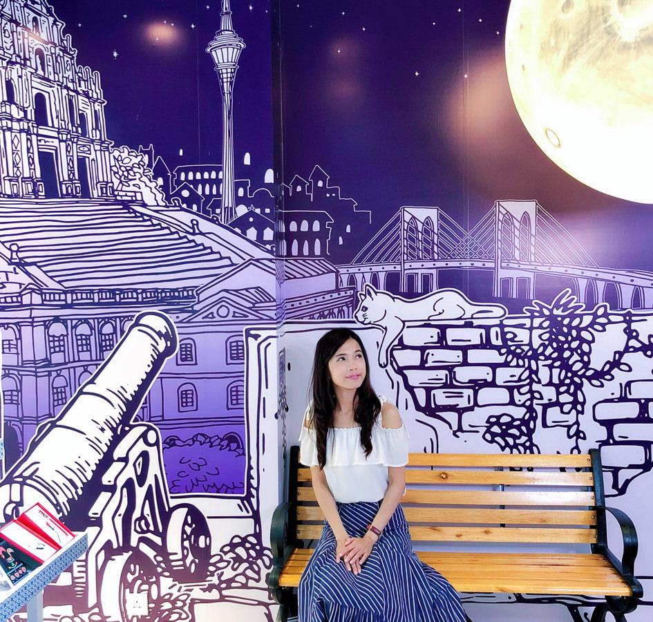 [澳門伴手禮推薦]O-Moon-最有藝術感的紀念禮品店~澳門打卡新地標 @美食好芃友