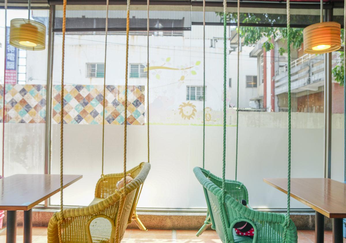 [高雄鳳山美食]渡邊の月桂-夢幻彩虹鞦韆座位~超適合聚餐約會的複合式餐廳 @美食好芃友