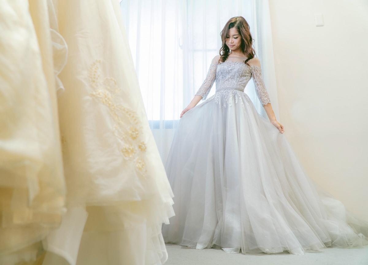 [高雄婚紗推薦]高雄白色婚禮White Wedding-高質感手工婚紗~絕美不加價區禮服試穿 @美食好芃友