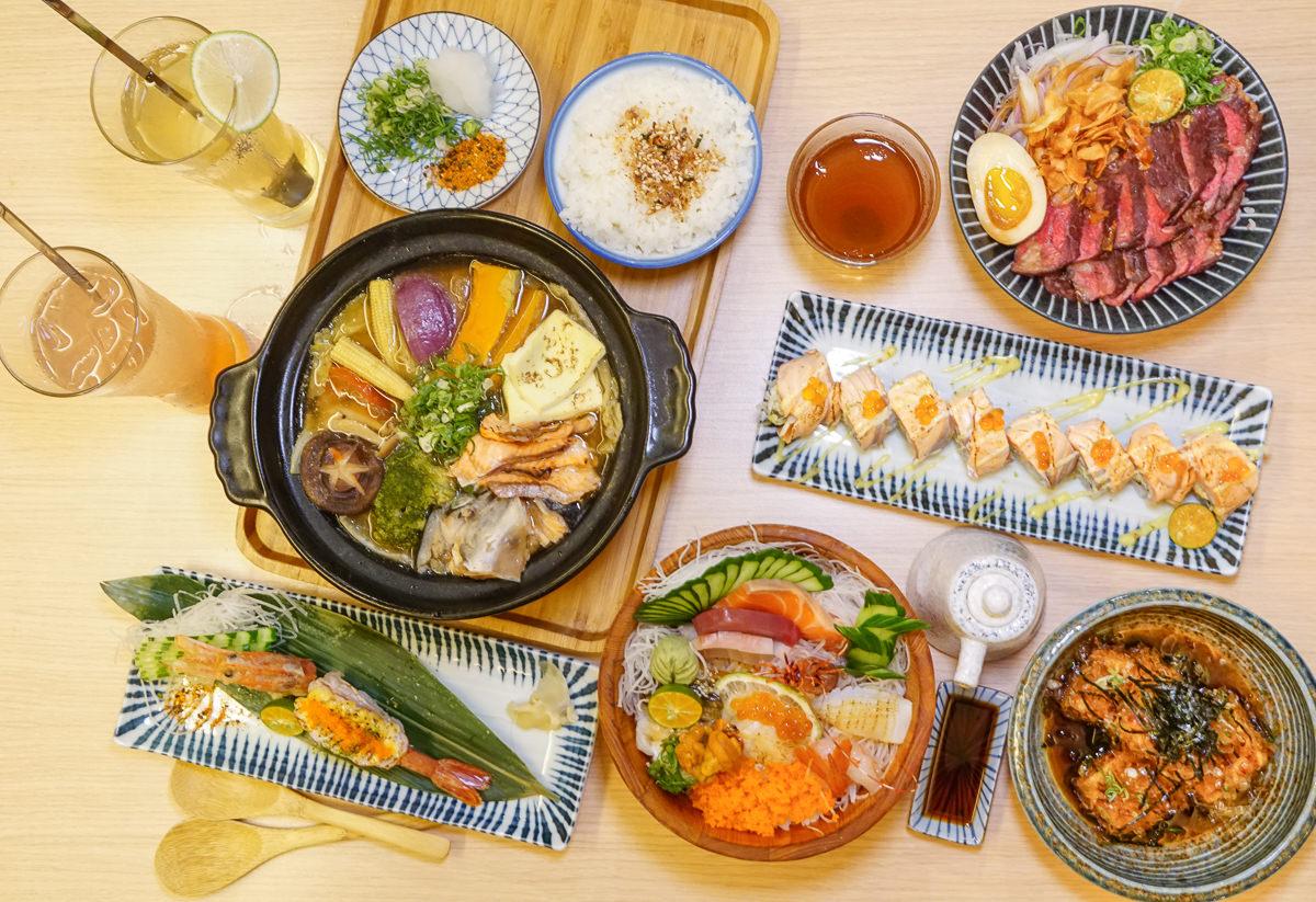 [高雄]佐渡森丼飯、壽司-高C/P值日式料理~必吃木桶海鮮丼x冬季限定石狩鍋 @美食好芃友