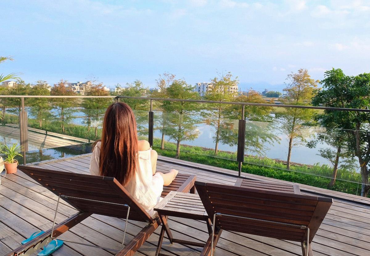 [宜蘭民宿推薦]小島Villa頂級人文渡假會館-獨享藍天綠地世外桃源!超美偶像劇拍攝場景 @美食好芃友