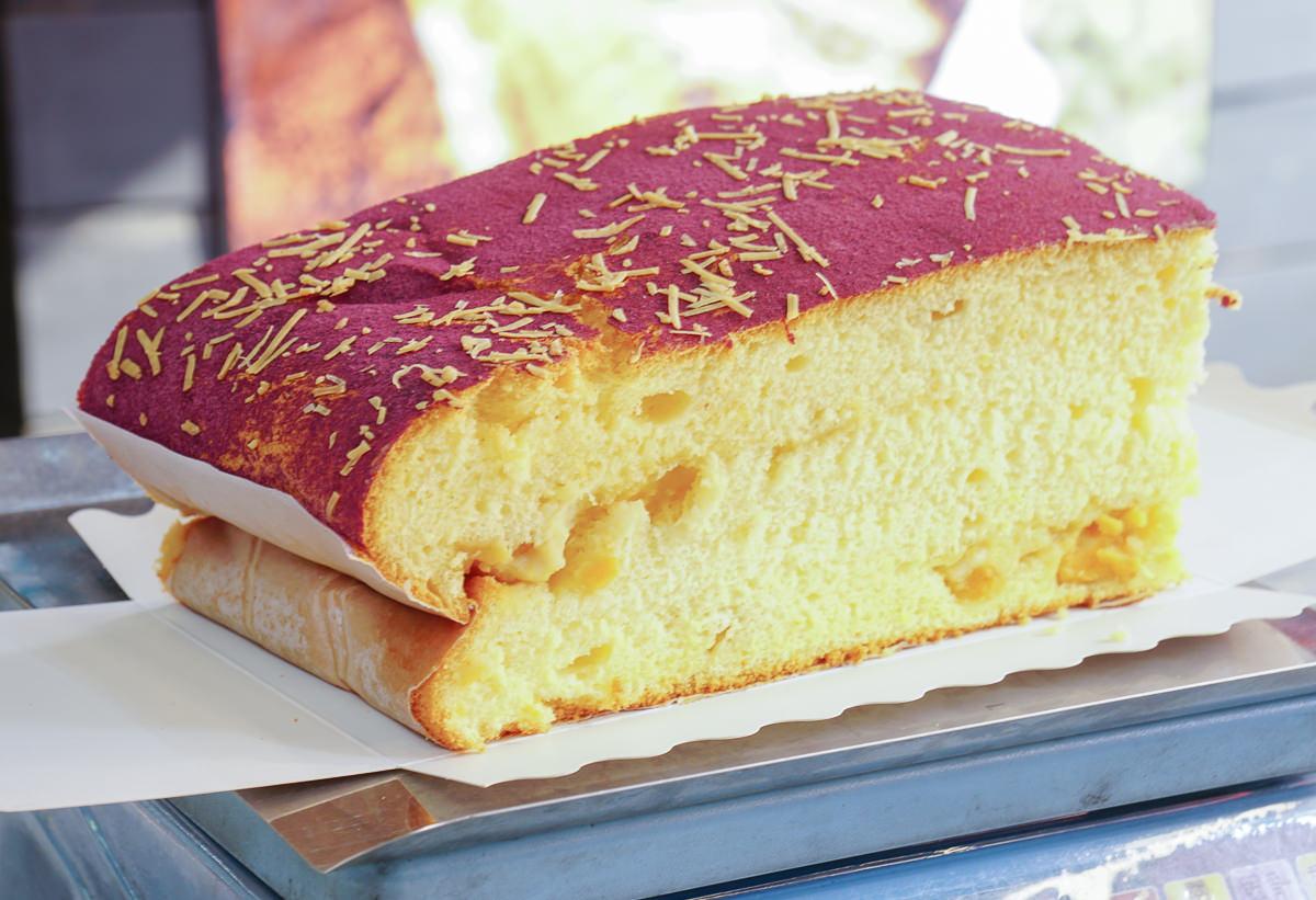 [高雄古早味蛋糕]法朗西斯烘培坊-超美紫薯地瓜古早味蛋糕~創意口味真材實料 @美食好芃友