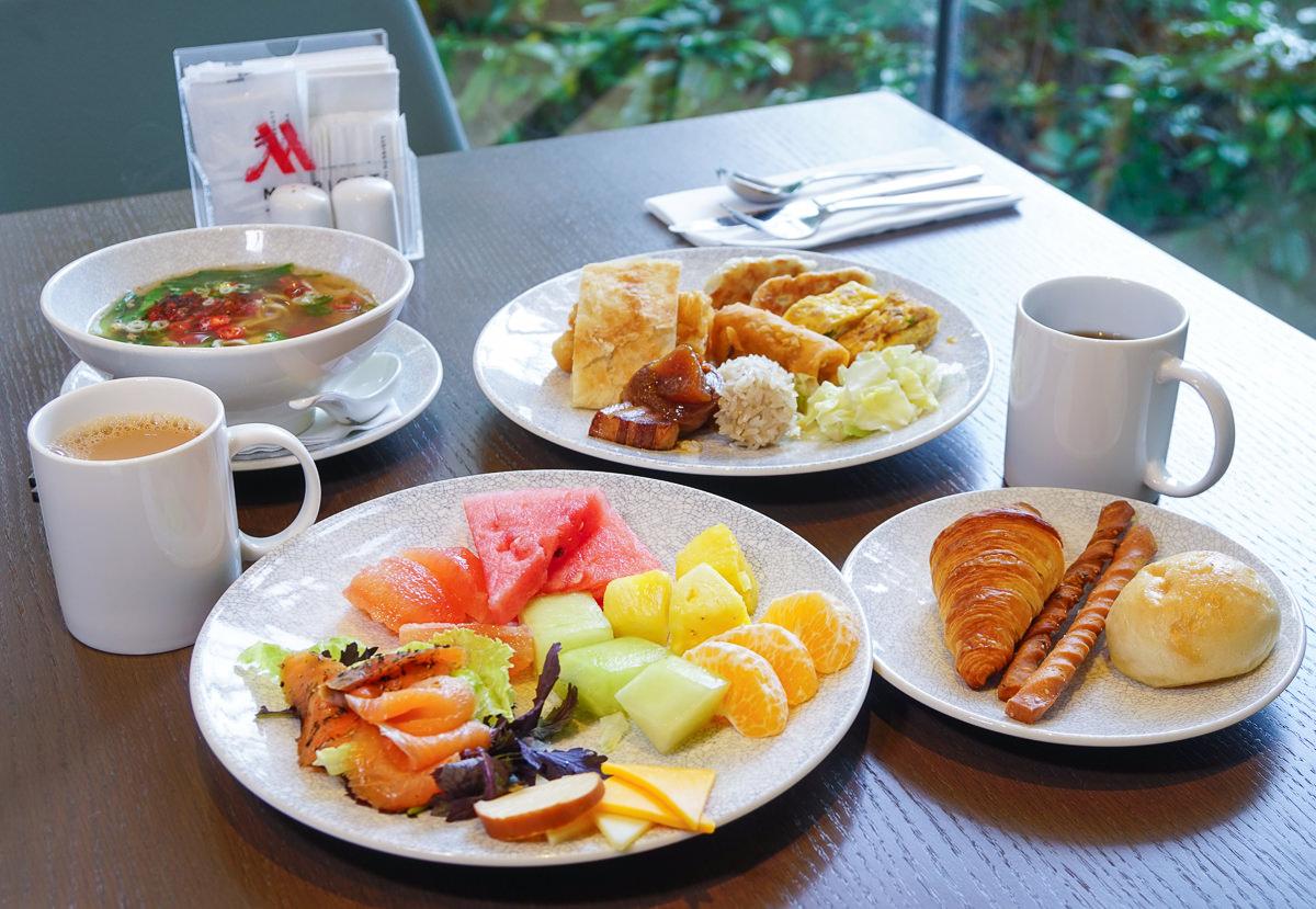 [台北住宿推薦]台北萬豪酒店Taipei Marriott Hotel-美麗華摩天輪相伴高質感住宿x台北101景觀夜景酒吧 @美食好芃友