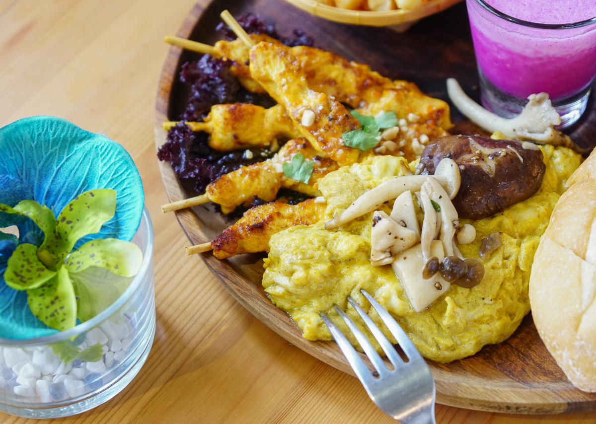 [高雄早午餐推薦]ALOHA-繽紛夏威夷風格早午餐店!超火紅高雄IG美食打卡 @美食好芃友