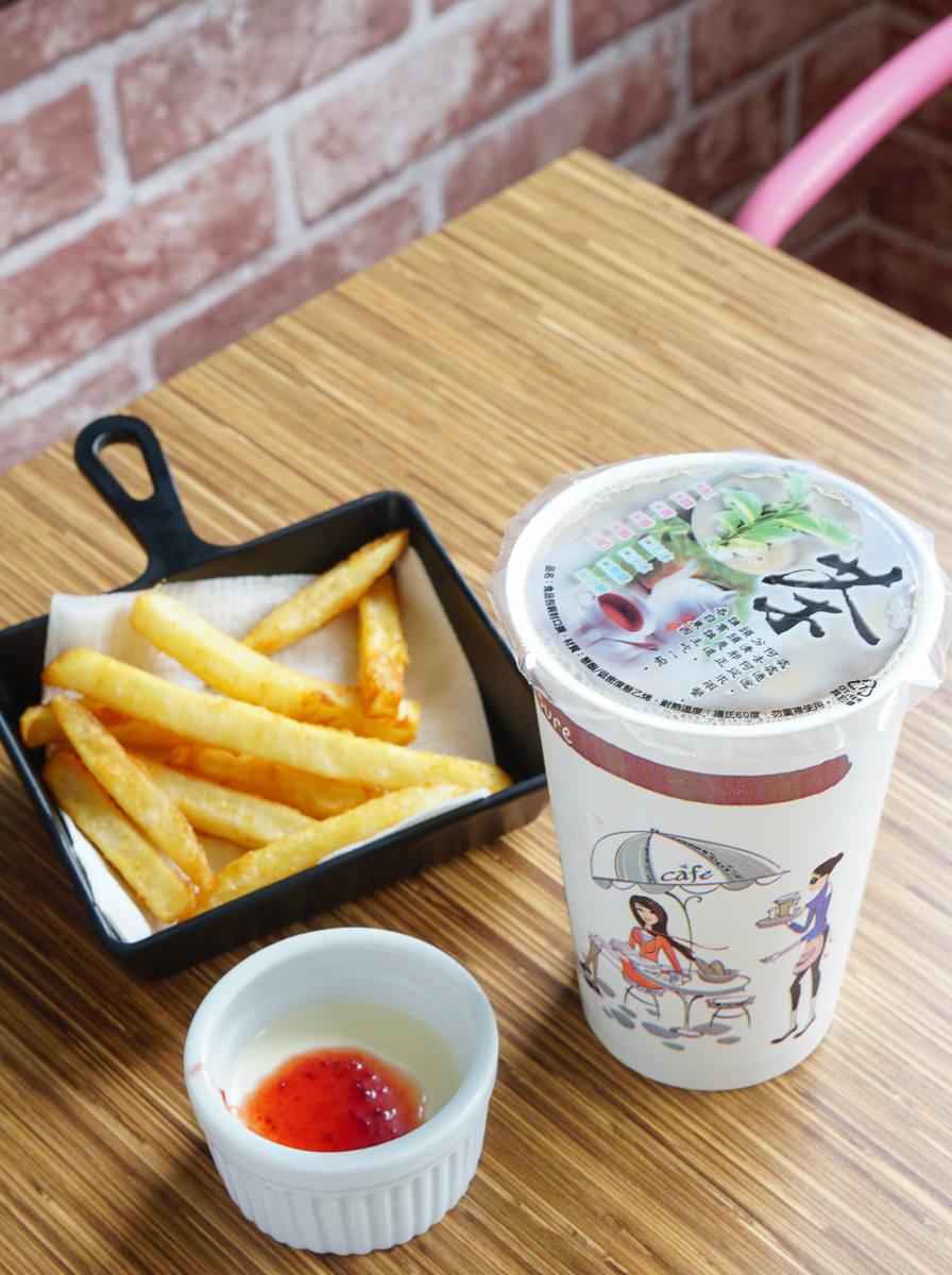 [高雄]威力早午餐-超繽紛紫薯蛋餅QQ球套餐~平價質感早午餐店 @美食好芃友